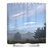 Misty Monday Shower Curtain
