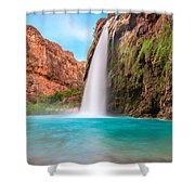 Misty Waterfall Shower Curtain