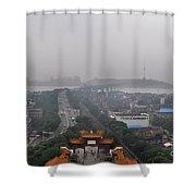 Misty Wuhan Shower Curtain