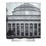 Mit Building 10 And Great Dome II Shower Curtain