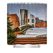 Mit Stata Building Center - Cambridge Shower Curtain