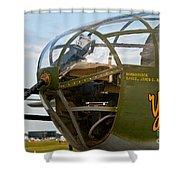 Mitchell Bomber Shower Curtain