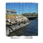 Mitchell Crossing Shower Curtain