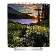 Mitchell Sunrise Shower Curtain