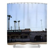 Mitla Cafe 2 Shower Curtain