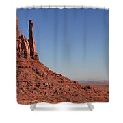 Mittens Landscape Shower Curtain