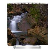 Mix Canyon Creek Shower Curtain