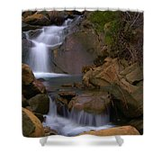 Mix Canyon Creek Shower Curtain by Bill Gallagher