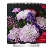 Mixed Bouquet Shower Curtain