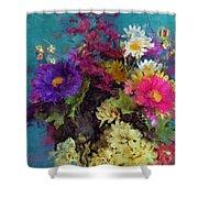 Mixed Bouquet Shower Curtain