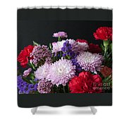 Mixed Posies Shower Curtain