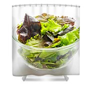 Mixed Salad In A Cup Shower Curtain