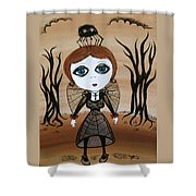Miz Goth Shower Curtain