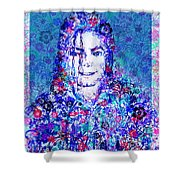 Mj Floral Version 2 Shower Curtain