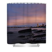 Mke 5am Shower Curtain