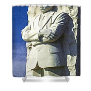 Mlk 5211 Colored Photo 1 Shower Curtain
