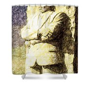 Mlk 5211 Tinted Copper Shower Curtain