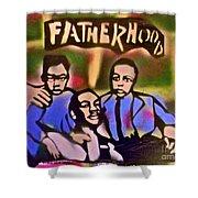 Mlk Fatherhood 2 Shower Curtain