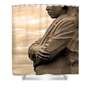 MLK Shower Curtain by Mitch Cat