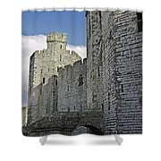 Moat And Bridge Shower Curtain