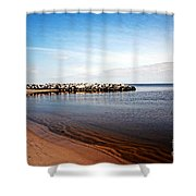 Mobile Bay 1 Shower Curtain