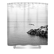 Mobile Bay 10 Shower Curtain