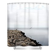 Mobile Bay 7 Shower Curtain