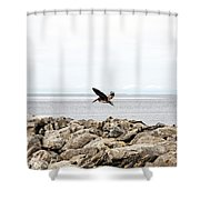 Mobile Bay 9 Shower Curtain