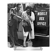Mobile Box Office Phone Shower Curtain
