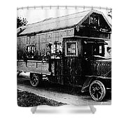 Mobile Home, 1922 Shower Curtain