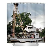 Mobile Osprey Nest Shower Curtain