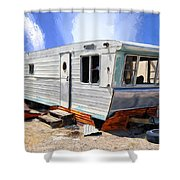 Mobile Science Project Shower Curtain