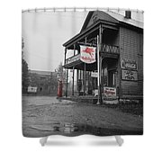 Mobilgas Shower Curtain