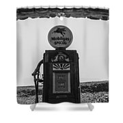 Mobilgas Pumps Shower Curtain