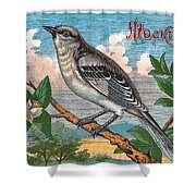 Mocking Bird Shower Curtain
