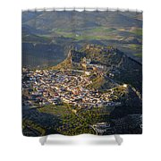 Moclin Castle Shower Curtain