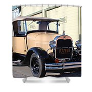 Model A Ford Truck Shower Curtain
