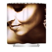 Model - Beauty Shower Curtain