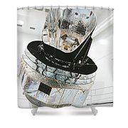 Model Of Planck Space Observatory Shower Curtain