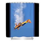 Model Plane 10 Shower Curtain