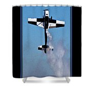 Model Plane 11 Shower Curtain