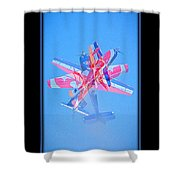 Model Plane 12 Shower Curtain