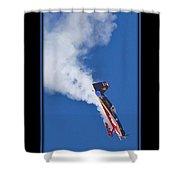 Model Plane 5 Shower Curtain