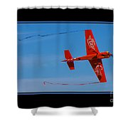 Model Plane 6 Shower Curtain