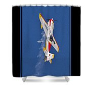 Model Plane 9 Shower Curtain