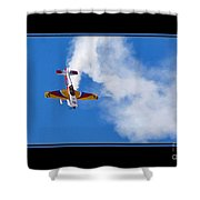 Model Plane Shower Curtain