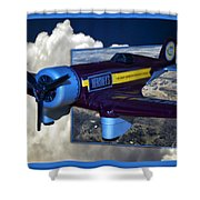 Model Planes Hershey 01 Shower Curtain