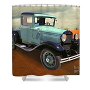 Model T Shower Curtain