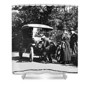 Model T Ford, 1919 Shower Curtain