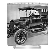 Model T Ford (1921) Shower Curtain